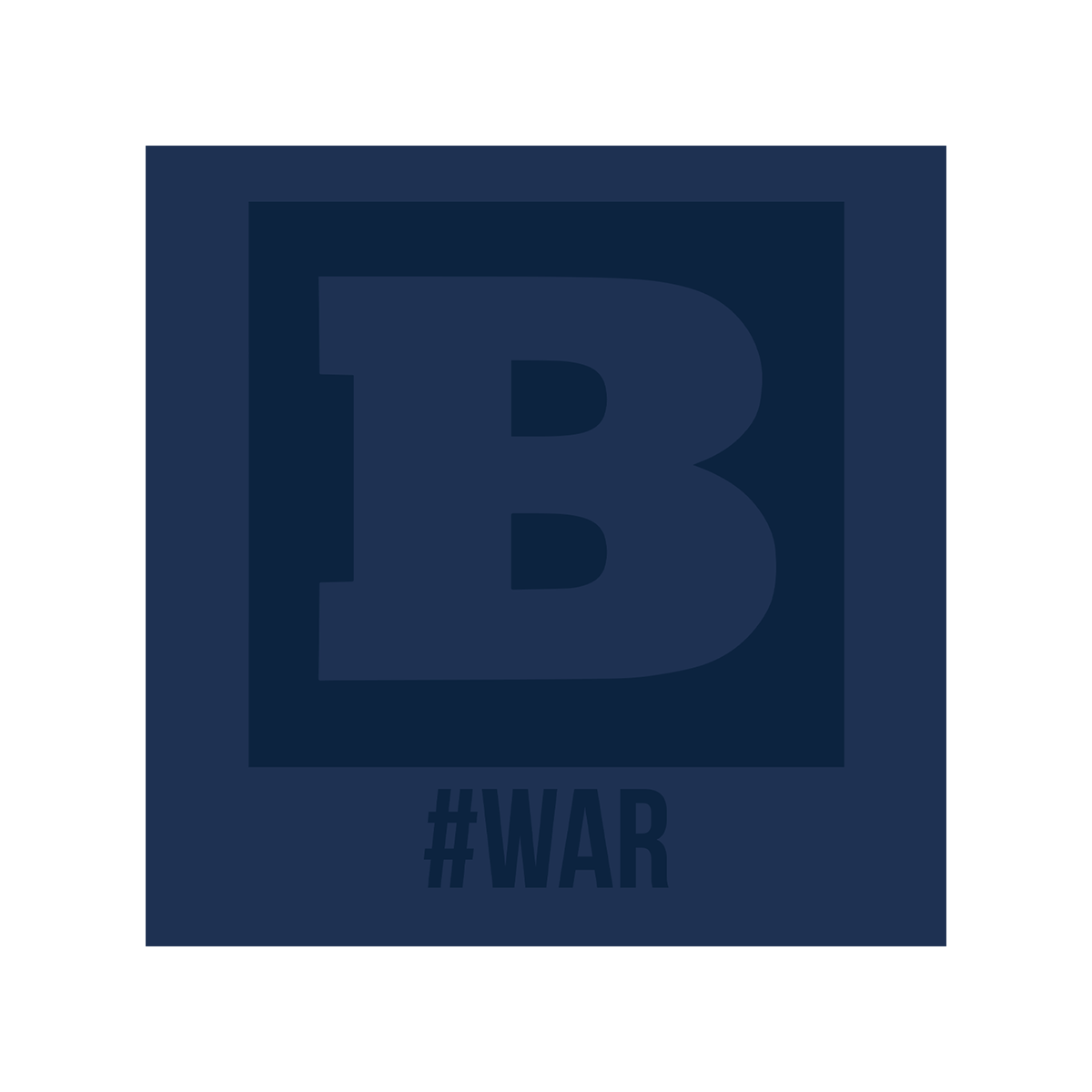 #WAR T-Shirt - Navy