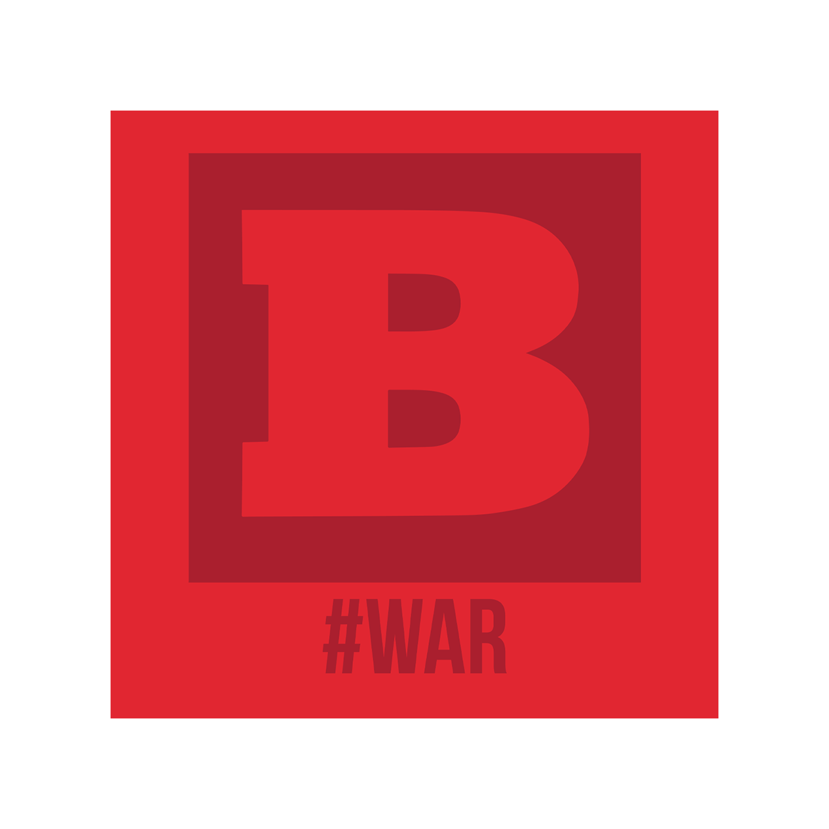 Breitbart #WAR T-Shirt - Red