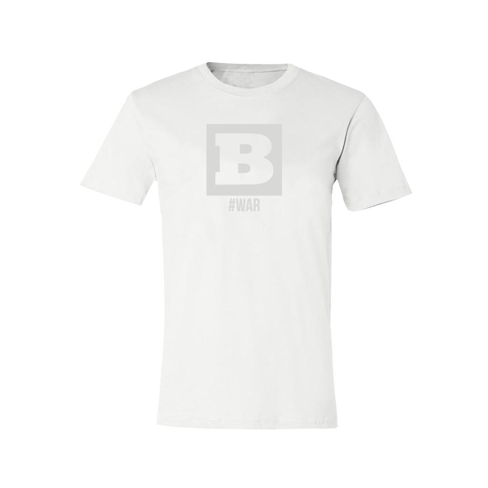 Breitbart #WAR T-Shirt - White