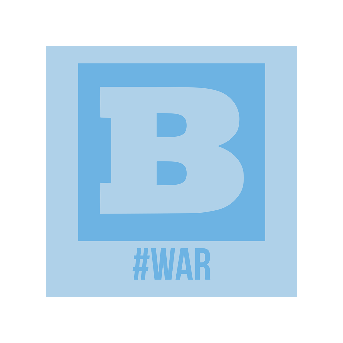 Breitbart #WAR Women's T-Shirt - Light Blue