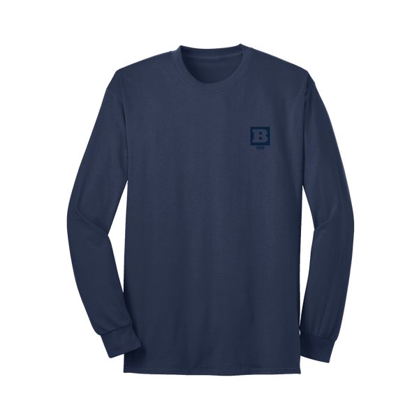 #WAR Long Sleeve T-Shirt - Navy