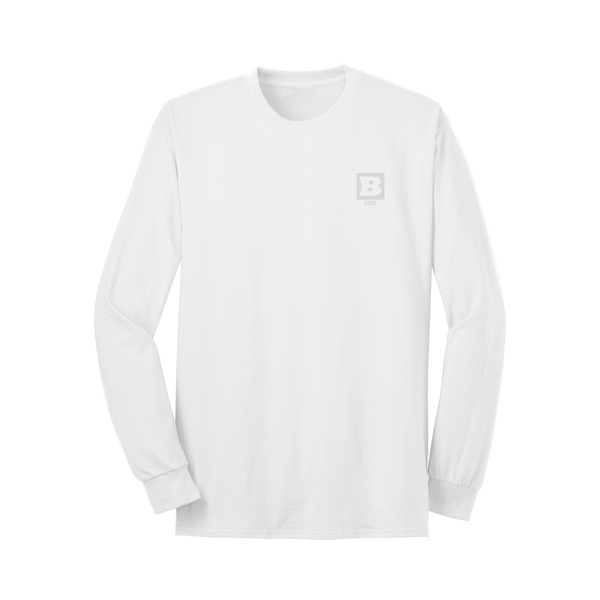 #WAR Long Sleeve T-Shirt - White
