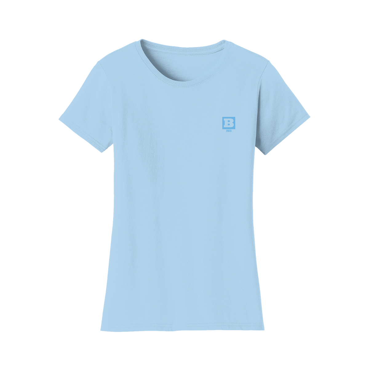 #WAR Women's T-Shirt - Light Blue