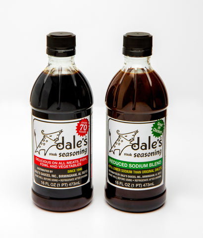 Split Case (12/16 oz. bottles) of Original and Reduced Sodium Dale's Seasoning
