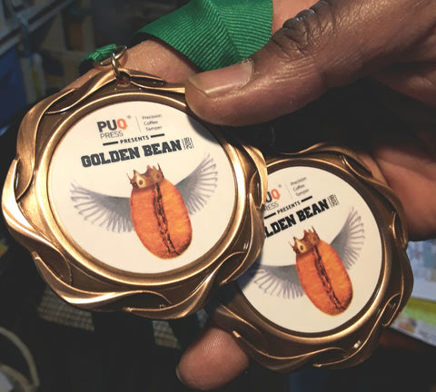 Golden bean North america 2018 bronze medals