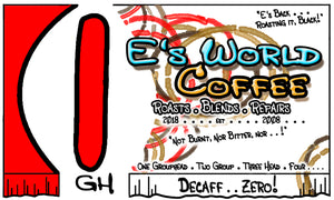 E's World Coffee Colombia Swiss Water Process Decaf Coffee