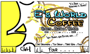 E's World Coffee Four Blend