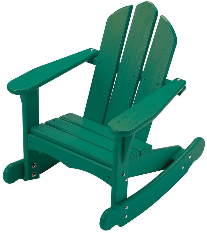 Child's Adirondack Rocker - Green