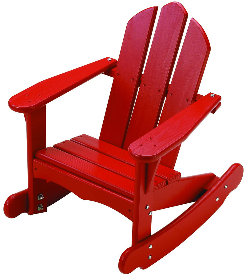 Child's Adirondack Rocker - Red