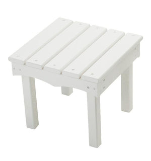 Adirondack End Table - Solid White