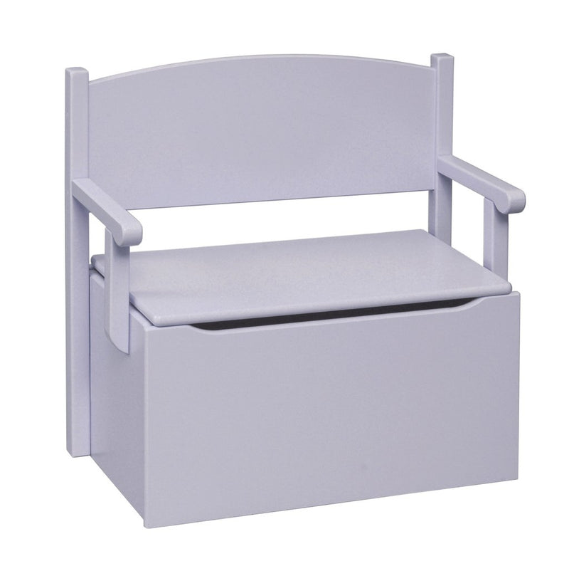 Bench Toy Box - Lavender/No Cut