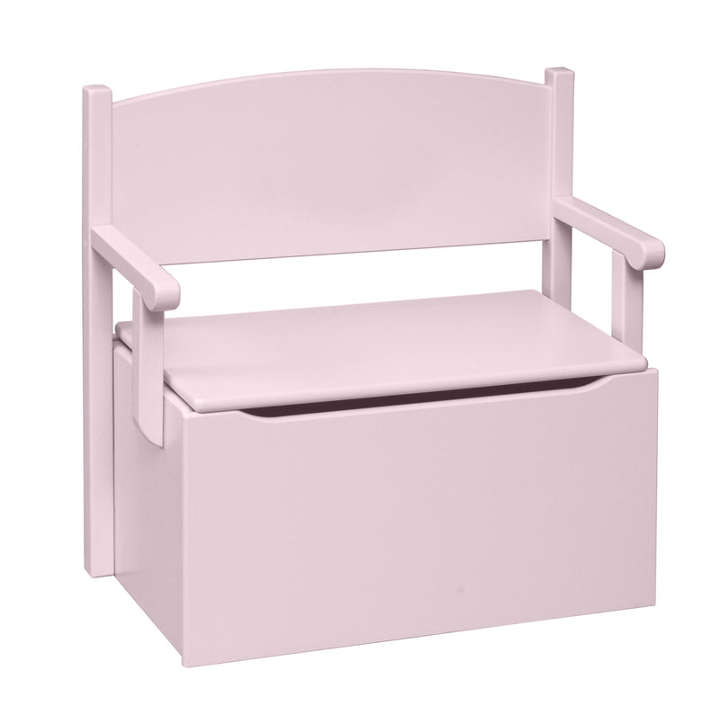 Bench Toy Box - Soft Pink/No Cut