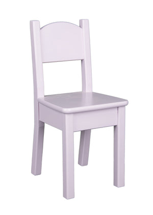 Open Back Chair - Lavender