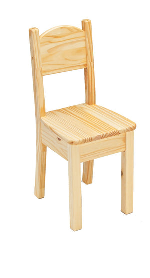 Open Back Chair - Natural