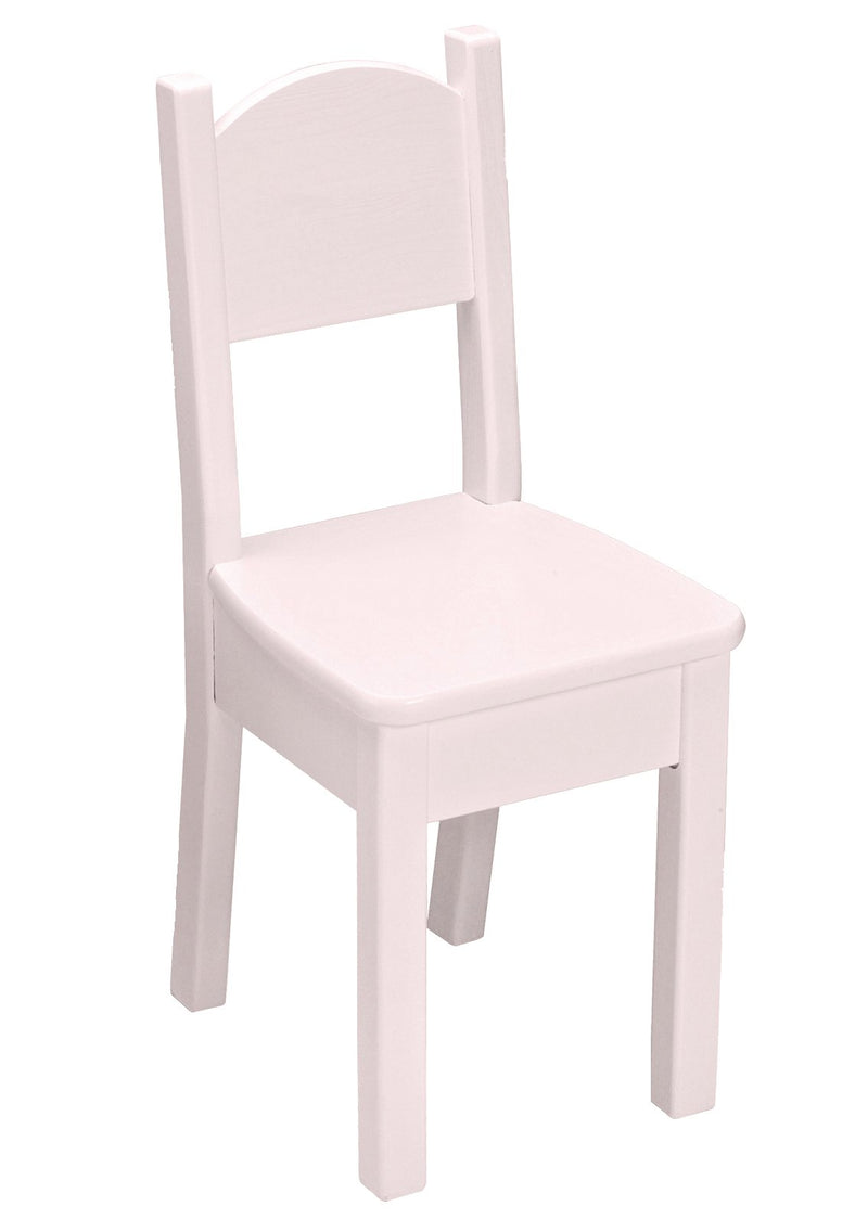 Open Back Chair - Soft Pink