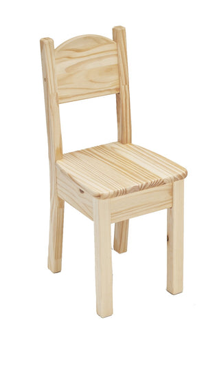Open Back Chair - Unfinished