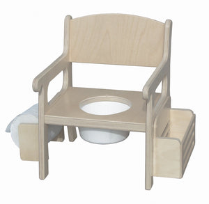 Potty Chair W/Acc - Unfinished
