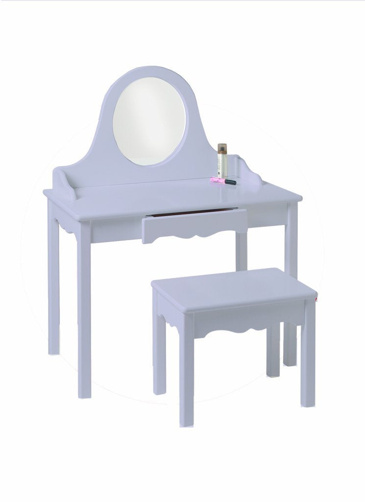 Vanity & Bench Set - Lavender
