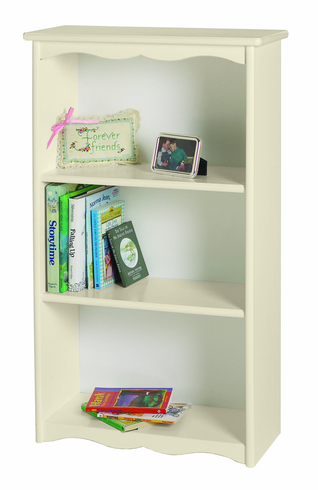 Traditional Bookcase - Linen