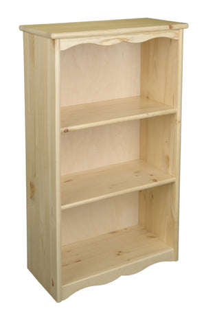 Traditional Bookcase - Natural