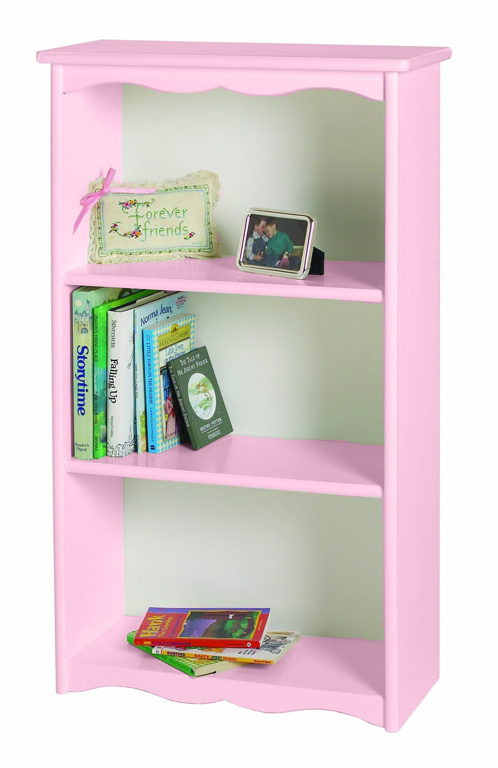 Traditional Bookcase - Soft Pink