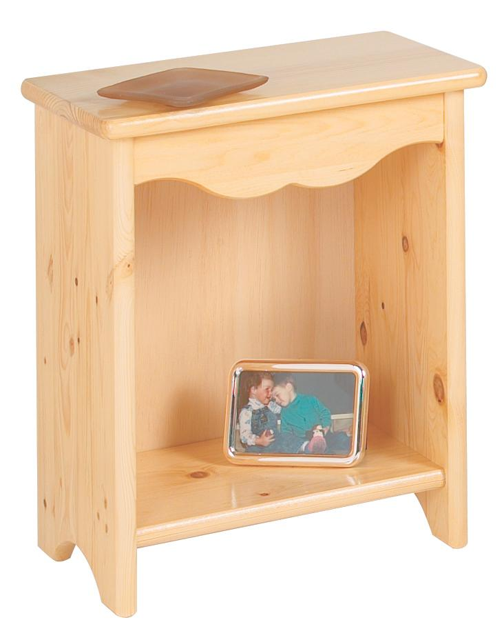 Toddler Bedside Stand - Natural