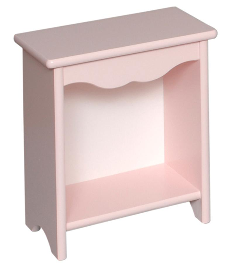 Toddler Bedside Stand - Soft Pink