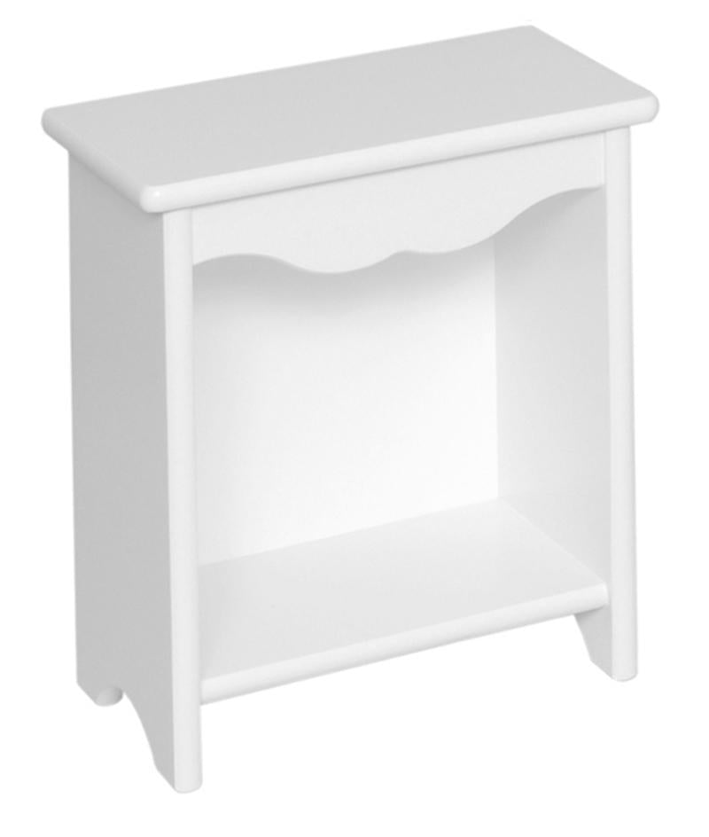 Toddler Bedside Stand - Solid White