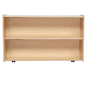 "Contender Mobile Shelf Storage, 29-1/4""H -Assembled with Casters"