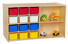 Contender Double Storage with (12) Colored Trays