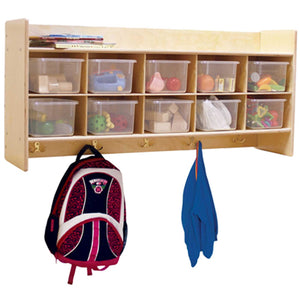 Contender Wall Hanging Storage with (10) Trays