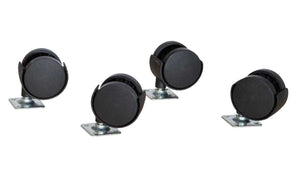 Contender Set of (4) Casters with hardware