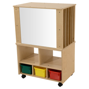 Contender Mobile Magnetic Teaching Organizer