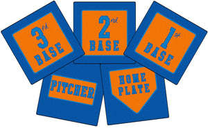 Stay Put Throw Down Bases (Set of 5/Case of 10)
