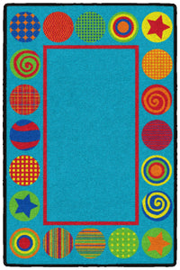 Patterned Circles Mat