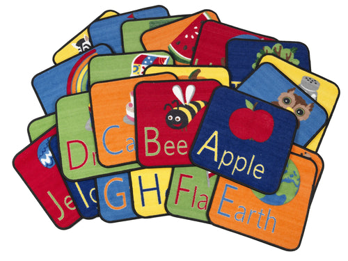 Alphabet Seating Squares (Set of 26)