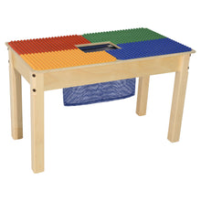 Time-2-Play Duplo Compatible Table with Colored Baseplates