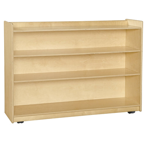 Mobile Shelf Unit w/ Lip