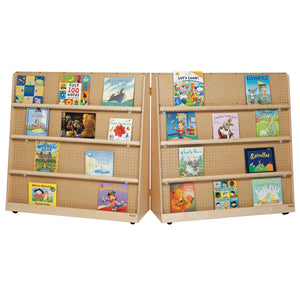 "Double Sided Book Display 50""H"