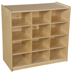 (12) Cubby Storage without Trays