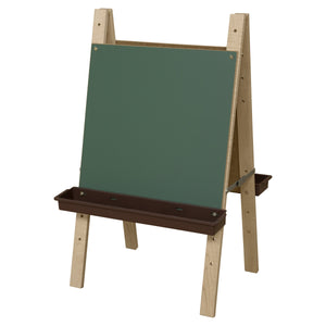 Tot Size Double Art Easel with Trays