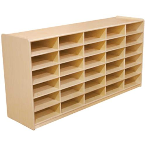 "(30) 3"" Letter Tray Storage Unit without Trays"