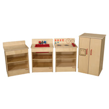 Set of (4) Tot Appliances with Standard Hutch