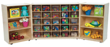 25 Tray Tri-Fold Storage with (25) Colored Trays