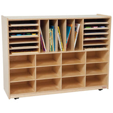 Multi-Sectioned Handy Storage Center