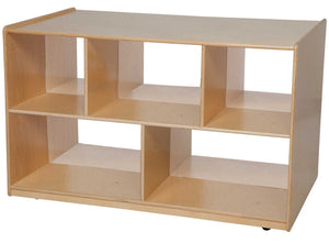 Multi-Configuration Double Storage Island with Divider