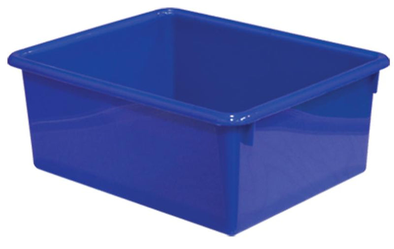 "5"" Rectangular Letter Tray - Blue"