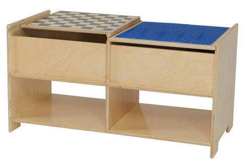 Two-Sided Build-N-Play Table