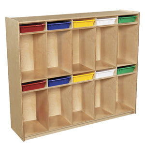 Multi-Configuration Sectioned Locker with Cubbies