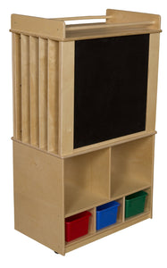 Store-It-All Teaching Center with Colored Trays